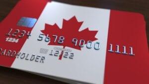 secured credit card canada flag
