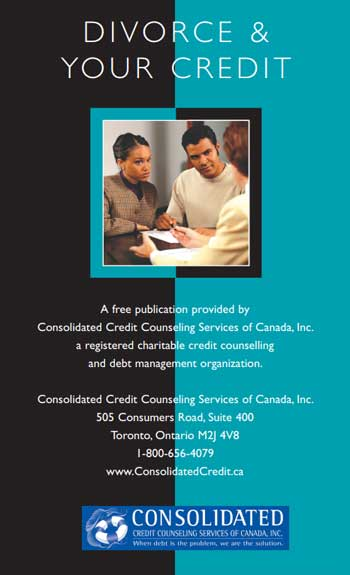 Booklet- Divorce and separating your finances