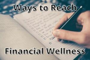 Checklist for financial wellness