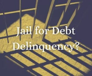 Image showing this topic: Can You Go to Jail for Not Paying Debt?