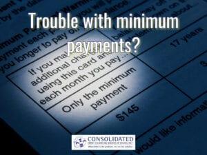 minimum payment statement