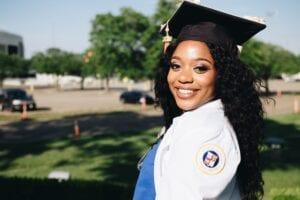 A female university graduate