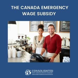 An owner getting help from the Canada Emergency wage subsidy