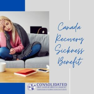 Woman who needs the Canada Recovery Sickness Benefit